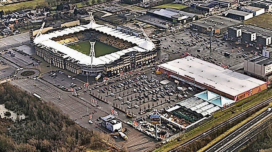 Stadion Neubau
