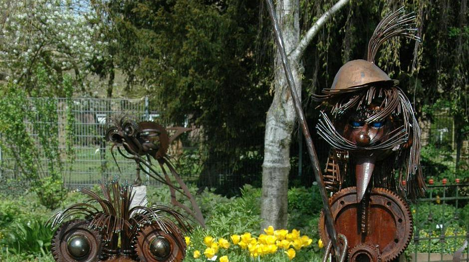 Künstler Krefeld of in krefeld künstler präsentieren garten paradies
