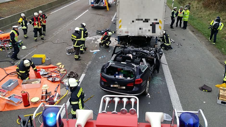 A1 Burscheid Unfall