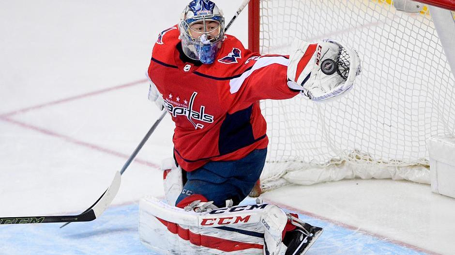 Washington Capitals: Philipp Grubauer zum Playoff-Start im Tor