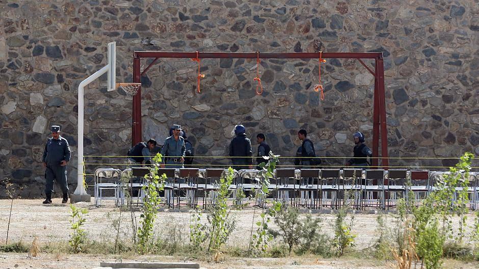 Afghanistan: Fünf Männer wegen Gruppenvergewaltigung hingerichtet