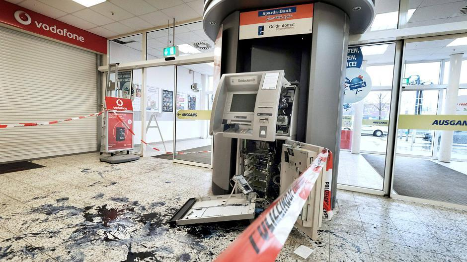 Sprengung Geldautomat