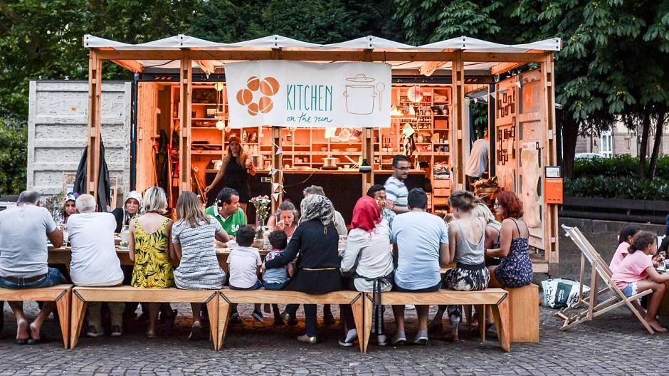 Container Küche | Viersen Container Kuche Auf Dem Lindenplatz