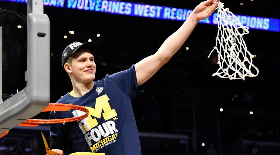 Basketball: Moritz Wagner steht mit den Michigan Wolverines im Final Four