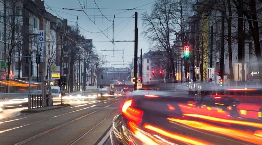 Stickstoffdioxid-Belastung an vielen Straßen in NRW rückläufig