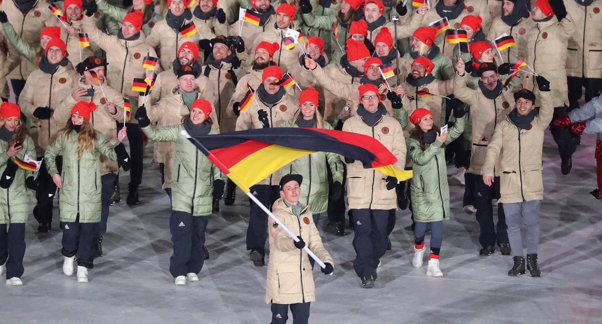Olympia Einlauf Reihenfolge