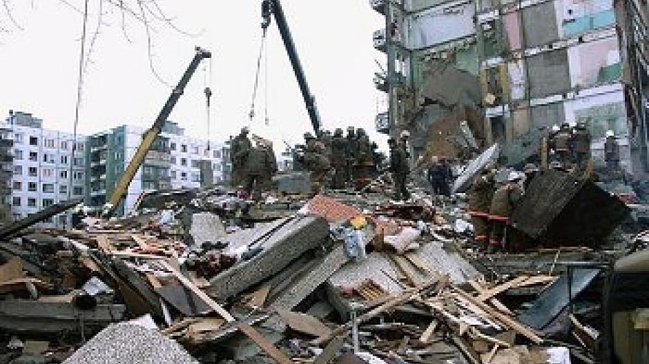 Russland Explosion