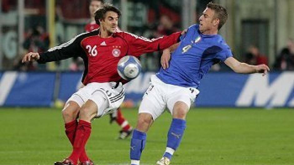 Länderspiel Italien