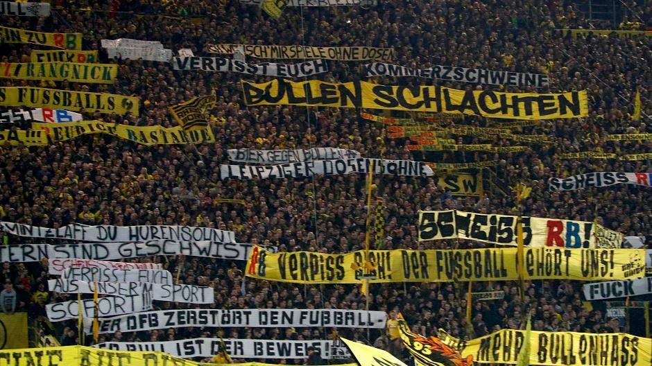 Borussia Dortmund Fans Beleidigen Rb Leipzig