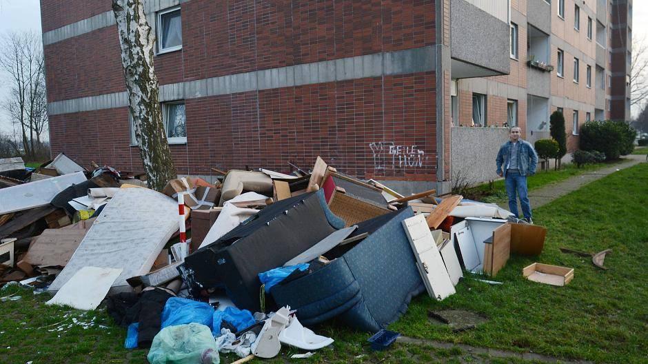 Stadt Willich: Nässe dringt in die Wohnungen