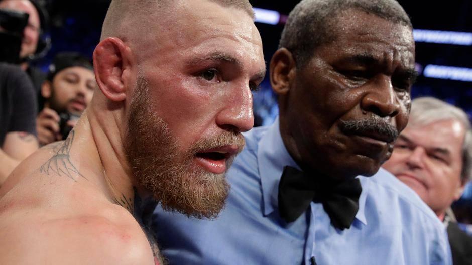 Floyd Mayweather Vs Conor Mcgregor Die Bilder Nach Dem Kampf