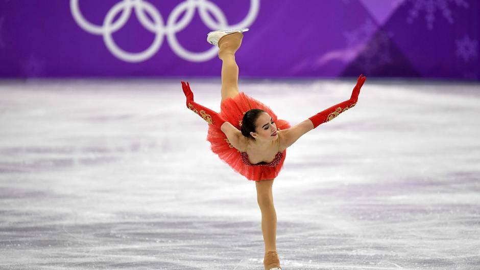 Olympia Gold Eiskunstlauf