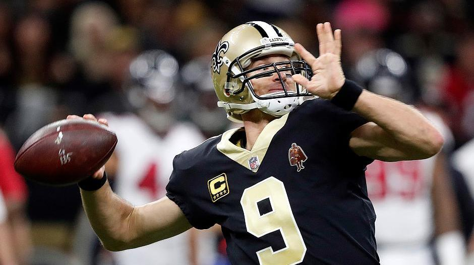 NFL 17/18: Drew Brees führt New Orleans Saints in die Play-offs