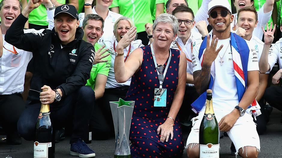 Lewis Hamilton Eltern