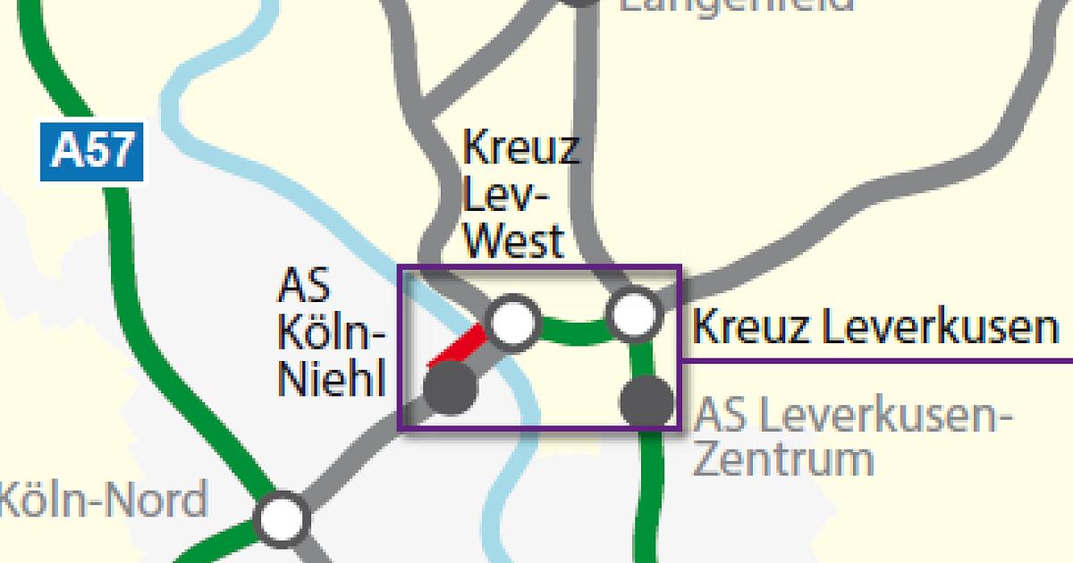 A1 Köln Stau