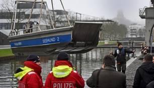 Robert P. aus Kleve vermisst: Taucher suchen erneut Spoykanal ab