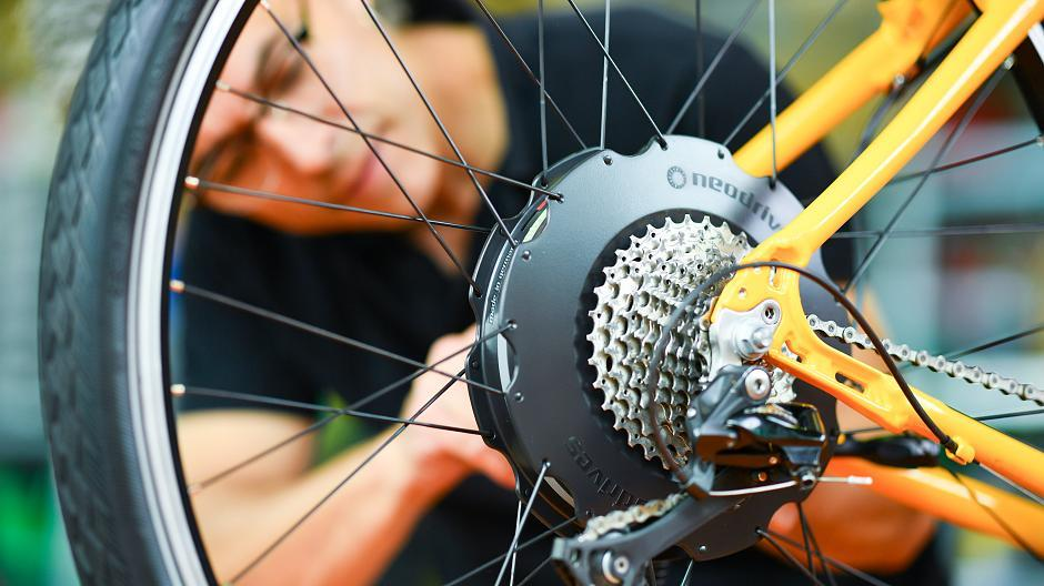 E bike umbauen ohne treten