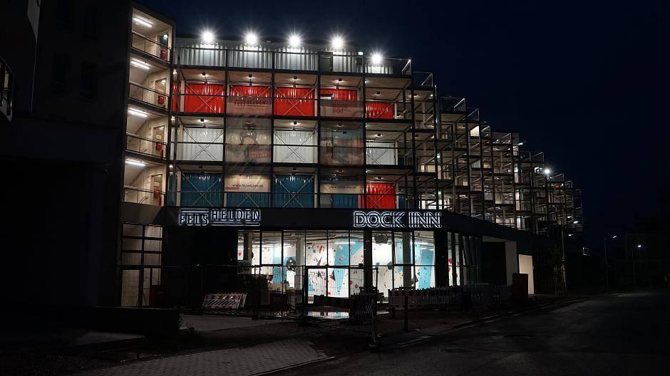 Container Hotel Warnemünde