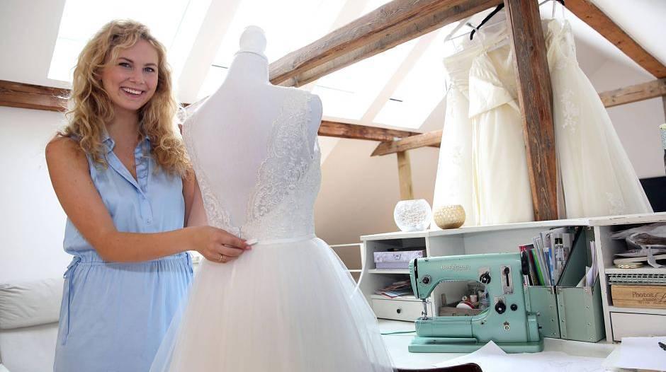 Vintage- und Boho-Brautkleider von Sanna Lindström