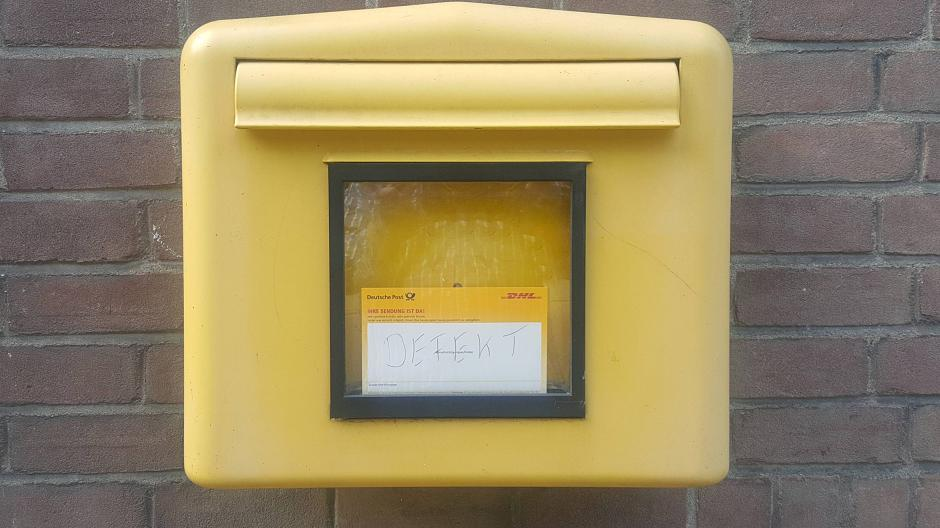 Toter Briefkasten