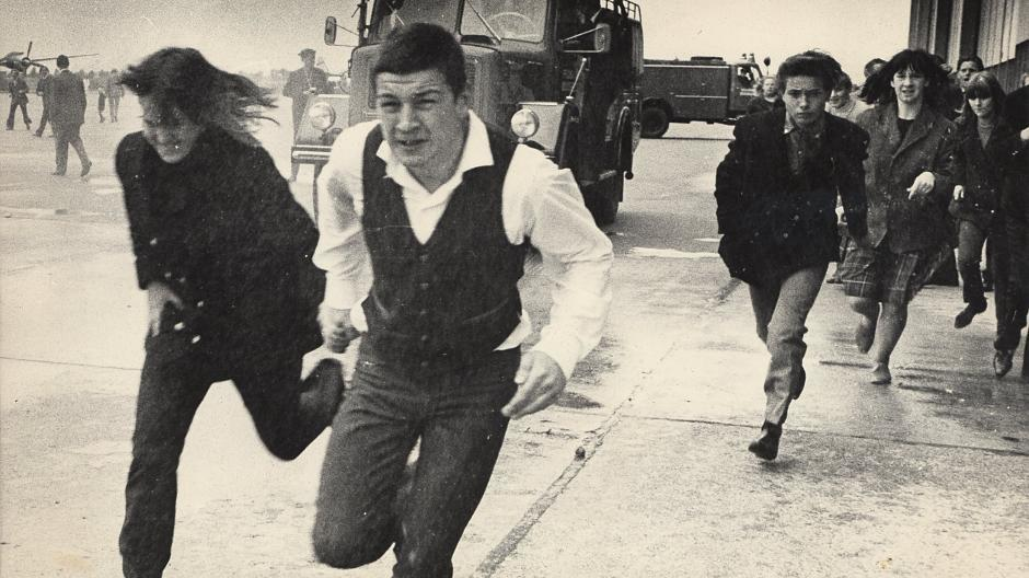 Rolling Stones 1965 Am Flughafen Düsseldorf Die Haben Uns Gejagt