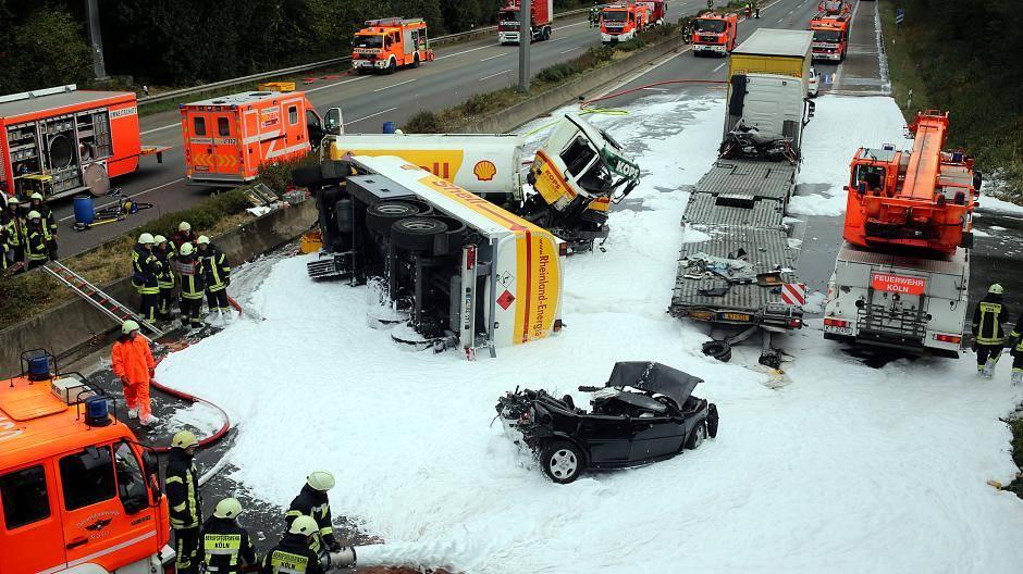 A4 Köln Unfall