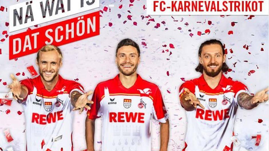 1 Fc Köln Präsentiert Neues Karnevalstrikot