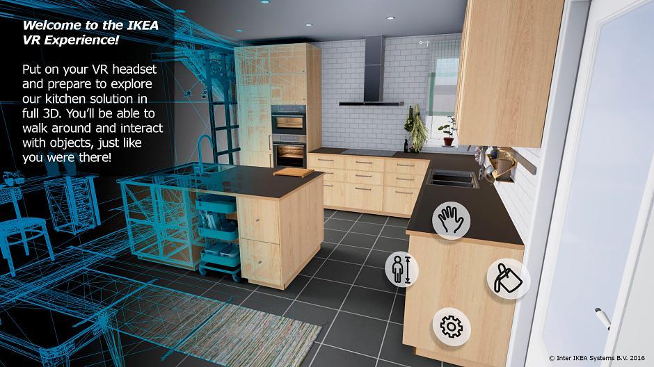 Virtual Reality bei Ikea - Küchenplanung mit der VR-Brille ...