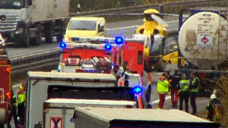 Unfall A61 Alzey Heute
