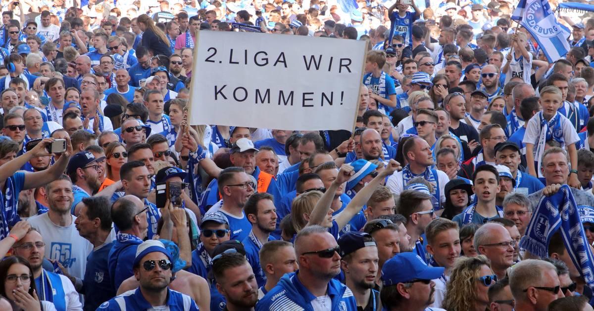 Magdeburg Aufstieg