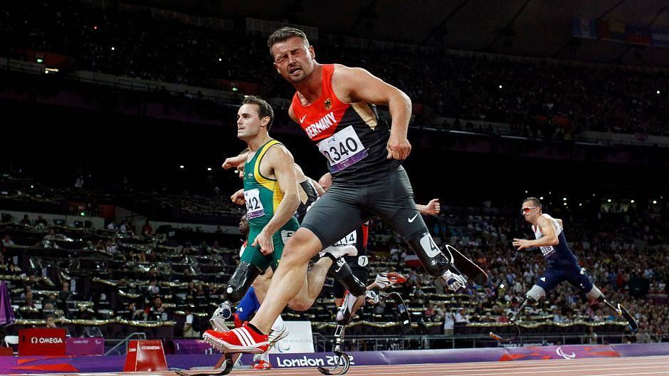 Brandneu Kauf echt klare Textur Paralympicssieger: Heinrich Popow stellt Weitsprung ...