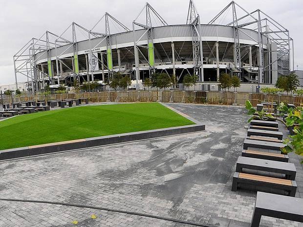 Borussia Mönchengladbach Biergarten