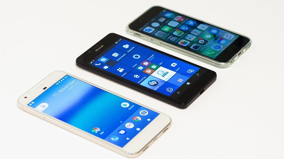 Smartphone: Android, iOS oder doch etwa Windows Phone?
