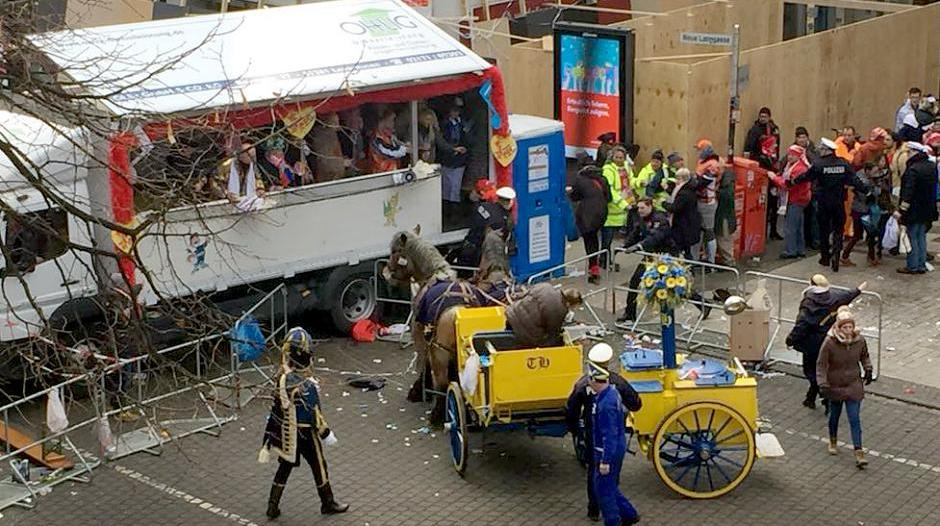 Karneval Unfall