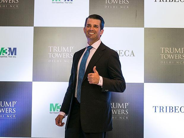 Donald Trump Junior wirbt für Luxus-Apartments in Indien