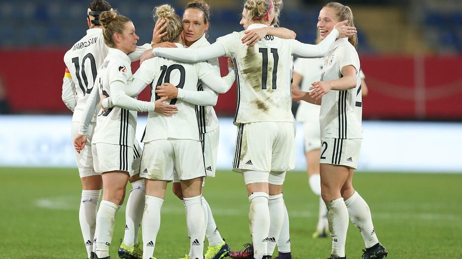 Frauenfussball Deutschland Frankreich
