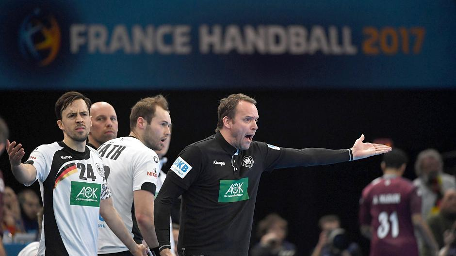 Deutschland Katar Handball