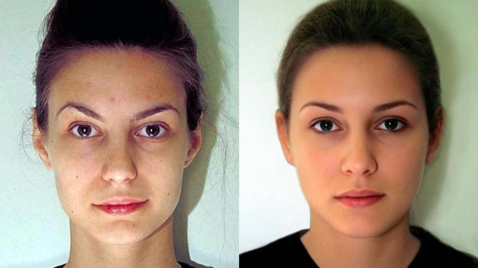 Gesichtsmerkmale Modelle für Plug