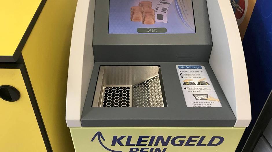 Düsseldorf Real In Heerdt Testet Erstmals Kleingeld Wechselautomaten