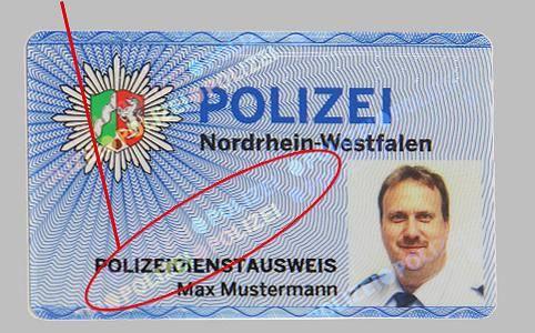 Polizeiausweis Nrw
