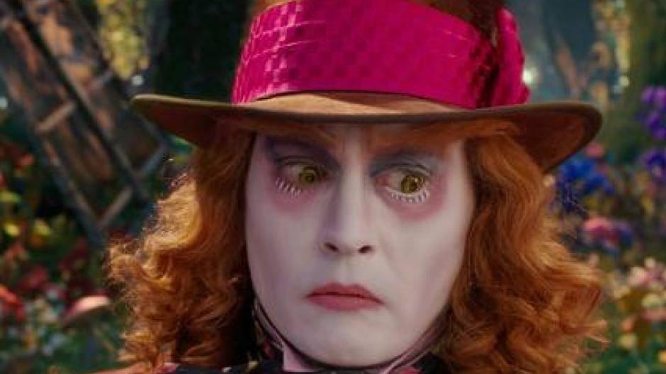 Alice Im Wunderland 2 Johnny Depp Als Deprimierter Hutmacher Im Kino