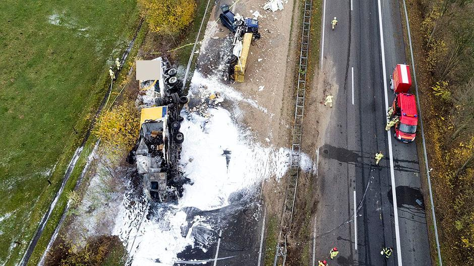 Unfall A57 Heute Morgen