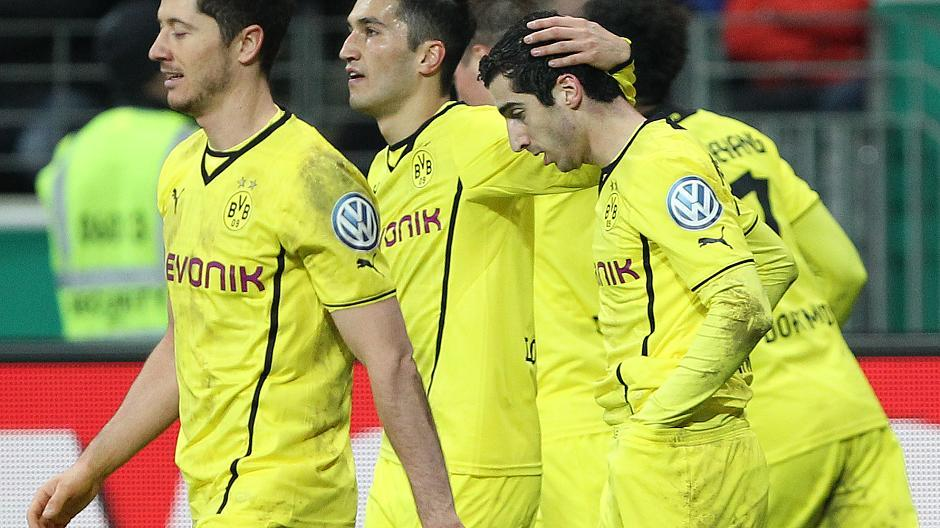 Dortmund Frankfurt Dfb Pokal