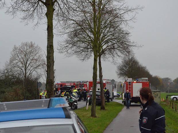 Schwerer Verkehrsunfall in Neukirchen-Vluyn