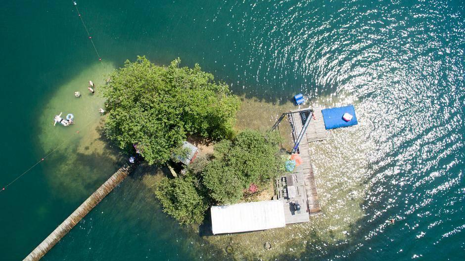 Blaue Lagune In Wachtendonk Bilder Aus Der Luft Vom Badesee