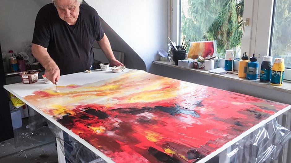 Helge Achenbach Jetzt Malt Der Düsseldorfer Kunstberater Selbst
