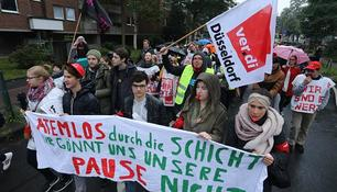 Bildergebnis für fotos vom streik am uniklinikum düsseldorf