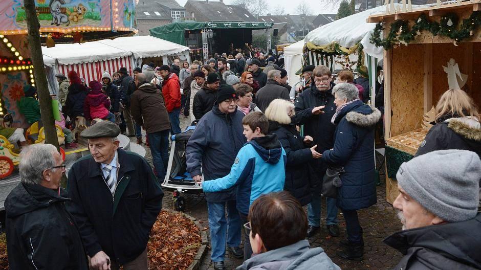 Weihnachtsmarkt Kempen.Stadt Kempen Weihnachtsmarkt Ist Beliebter Treffpunkt