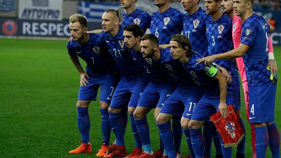 Kroatien Fußball Nationalmannschaft