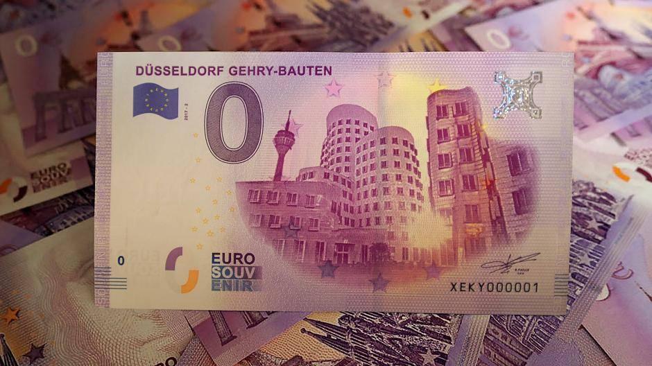 Der Neue Düsseldorfer Null Euro Schein Ist Da